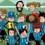 ilustración de los futbolísimos