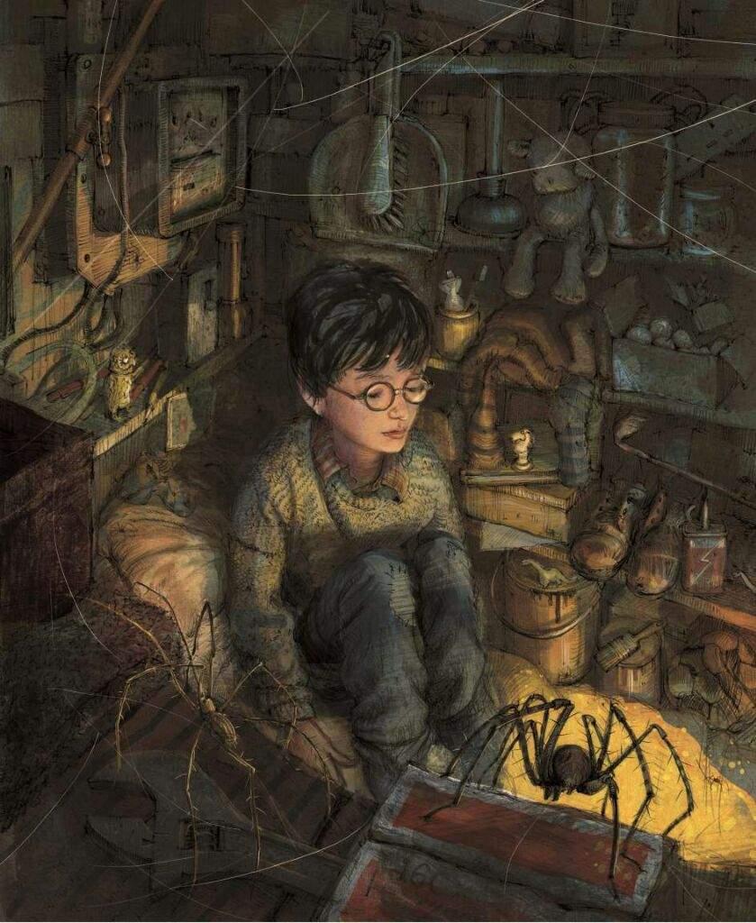 Harry Potter interior